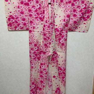 ◆浴衣 花柄ピンク◆