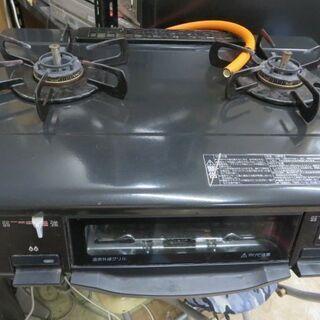パロマLPガスコンロ 2014年製IC-N900B-R