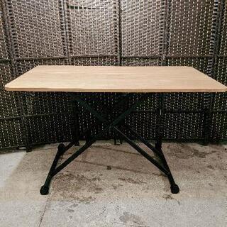 昇降テーブル テーブル 高さ調節 デスク 昇降式 リフト ローテ...