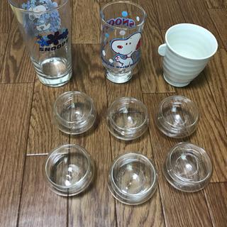 ダブルウォールグラス、スヌーピーグラス、タチ吉等