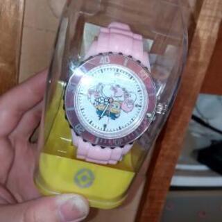ミニオン腕時計(ピンク)