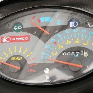 動画あり KYMCO スーパー9s 原付 スクーター 50cc 中古品 2スト 激速!7.2馬力 プロの塗装済 低走行 美品 - 売ります・あげます