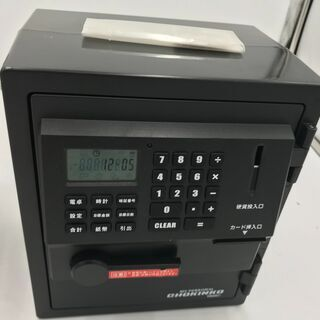 【未使用】金庫型 貯金箱 『近隣無料でお届け』