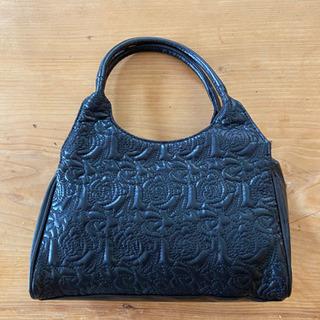 ハンドバッグ 黒 未使用品