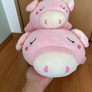 【ネット決済】ぬいぐるみ 豚