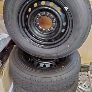 ハイエース200系6型 タイヤホイール&ホイールキャップセット