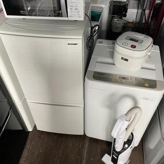 🌴家具家電5点セット🌴 🚚最短即日対応🚚 🚘近隣配送無料🚘 ☀️安心保証☀️  - 家電
