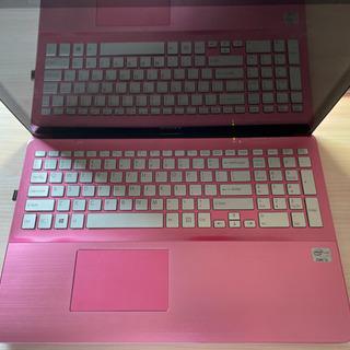 Sony VAIO パソコン ピンク色 タッチスクリーン