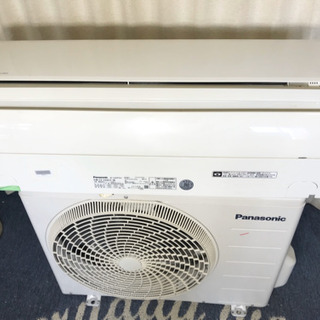 インバーター搭載✨冷暖房エアコン✨Panasonic😍6畳…