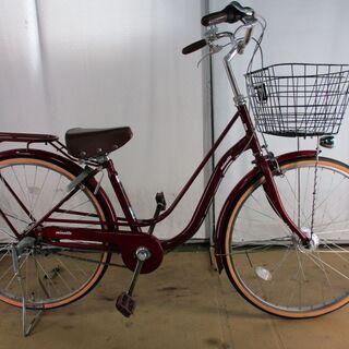 美品 中古自転車 B323 軽快車 LEDオートライト 3段 ...