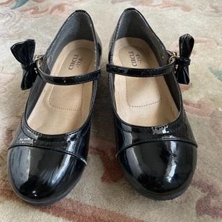 【ネット決済】19センチ 入学発表会用 靴 女児