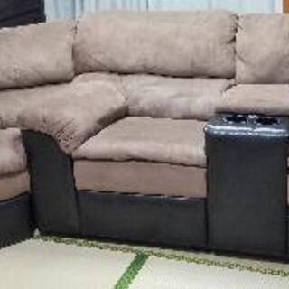 単品交渉可!  輸入家具  リクライニングソファー2点セット