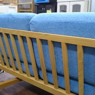 (軽い木枠の)SIEVE 2人掛けソファー 高く買取るゾウ八幡東店 − 福岡県