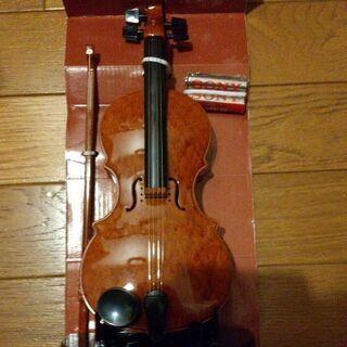 ヴァイオリン 自動演奏 《お話中》