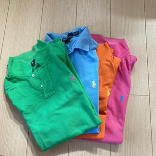 【ネット決済】ラルフローレンのポロシャツ4枚セット