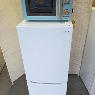 【23区配送無料】⭐ヤマダオリジナル冷蔵庫117L+アイリスオー...