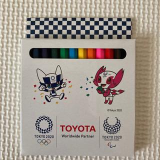 新品未使用 色鉛筆 オリンピック TOYOTA(⑅•ᴗ•⑅…
