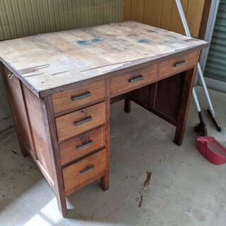昭和30年代の学習机