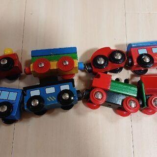 【お値下げしました】木製レール、電車