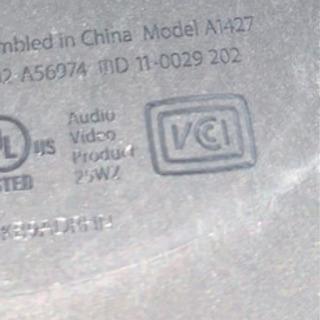 【ネット決済・配送可】Apple TV Model: A1427