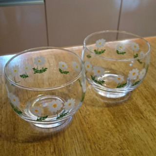 アデリア 野花のペアグラス