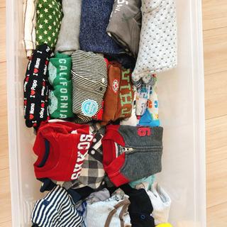 男の子新生児〜80のロンパース、Tシャツ、帽子、ケープ、ベスト