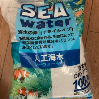 アクア 海水の素 観賞魚