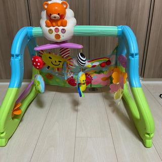うちの赤ちゃん世界一 全身の知育メリー&ジム おもちゃ こども ...