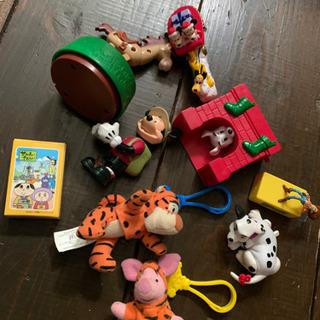 【差し上げます】ミニトランプ+ほぼハッピーセットのおもちゃ
