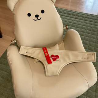 【ネット決済】テディハグ 泣かない椅子 中古美品