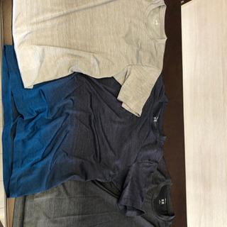 メンズユニクロTシャツ ほぼ新品 Lサイズ