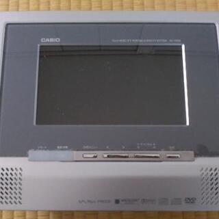ジャンク 防水DVDテレビプレーヤー カシオ