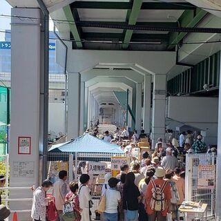 7月10日(土) JR弁天町駅前 フリーマーケット開催情報