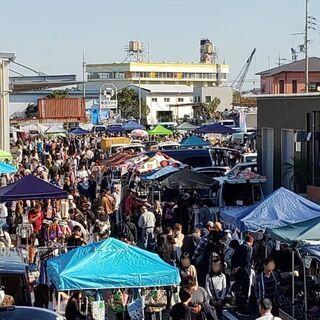 7月25日(日)岸和田地蔵浜みなと フリーマーケット開催情報