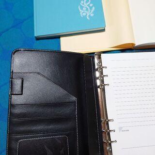 大きめ手帳とノート