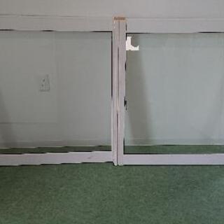 室内用木製窓  中古品  開口寸法  高さ970  幅1820 ...