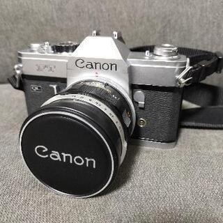 【ネット決済・配送可】【整備済】Canon FTQL フィルムカ...