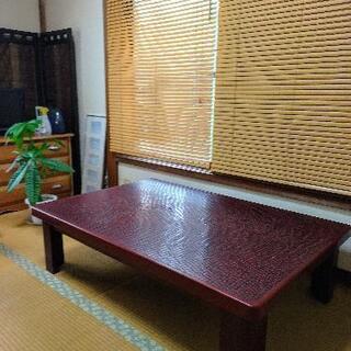【ネット決済】☆鎌倉彫テーブル値下げしました☆