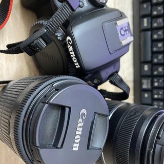【ネット決済・配送可】canonの一眼レフカメラ