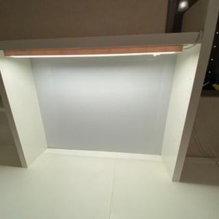 先着順 IKEA ニッケ 机 ホワイト 140cm