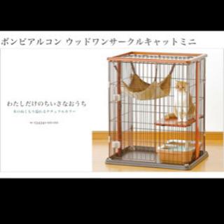 猫用ゲージ+キャットタワー
