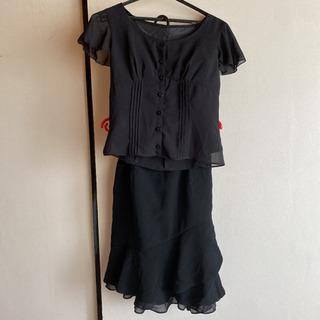 夏用ブラウスとスカート 礼服 セットアップ