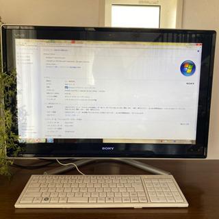 VAIO SONY パソコン デスクトップ一体型 テレビも見れる