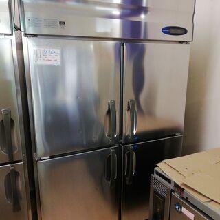 冷凍冷蔵庫 業務用 中古 1200 100v 4枚扉 ホシザキ