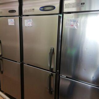 冷凍冷蔵庫 業務用 中古 ホシザキ 630 100v 2枚扉