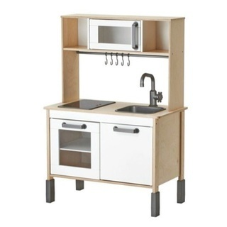 IKEA シンプル キッチン 高さ調整付き