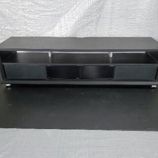配送無料 シックな黒のテレビボード!(大きめ)