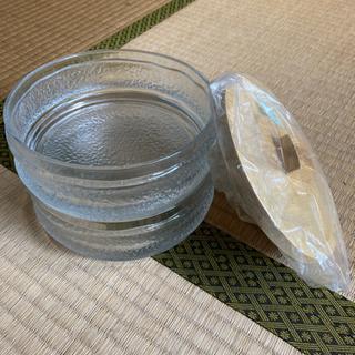レトロガラス食器、小物入れ、ガラス器