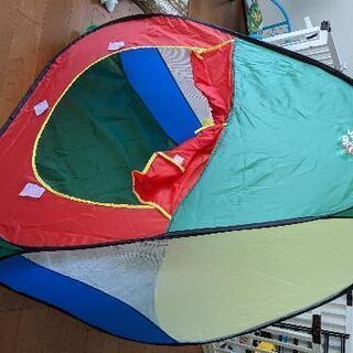 【ネット決済・配送可】子供用テント、カラーボールのセット