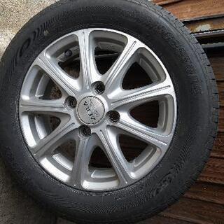 タイヤ、ホイールセット4本